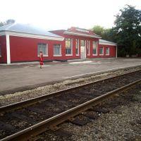 ж.д вокзал, Колпны
