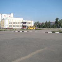 Центральная площадь, Колпны