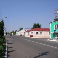 Центральная улица-на север, Малоархангельск