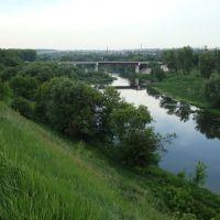 Вид с Соборной горы, Мценск