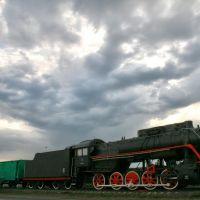 Памятник бронепоезду, Мценск, Орловская область, Мценск