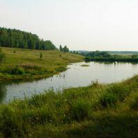 Orel Region, Lake, Нарышкино