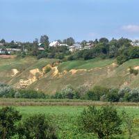 Вид на Новосиль со стороны Заречья, Новосиль