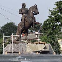 Памятник Генералу Ермолову, только установили., Орел