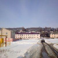 Слева здание газовой конторы., Покровское