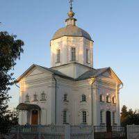 Церковь в Хомутово, Хомутово