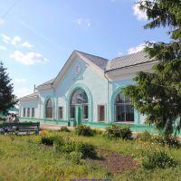 Ж.д. вокзал п.г.т. Хотынец (07.06.2011), Хотынец