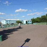 Привокзальная площадь, п.г.т. Хотынец (07.06.2011), Хотынец