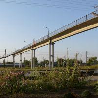 Мост через железнодорожные пути, Башмаково