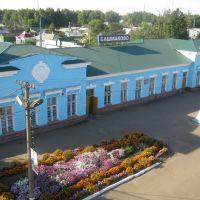 ж.д.вокзал БАШМАКОВО., Башмаково
