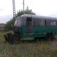 Автопарк в упадке., Беково
