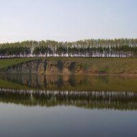 Новый пруд. Вид на обрывы, Белинский