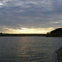 Новый пруд. Вид с плотины., Белинский