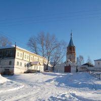 Вадинск.Монастырь зимой, Вадинск
