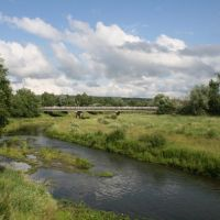 вид на мост_лето, Вадинск