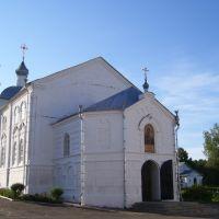 храм Тихвинской ик. Б.М.  (с северо-запада,утро), Вадинск