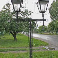 Old streetlight, Земетчино