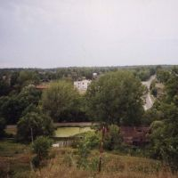 Вид на дорогу, Золотаревка