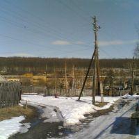 Вид на фабрику с улици Красная, Золотаревка