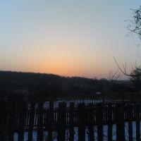 """Весенний рассвет вид на """"Зорьку"""", Золотаревка"""