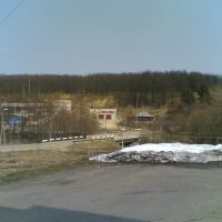 Вид на фабрику со стороны клуба2, Золотаревка