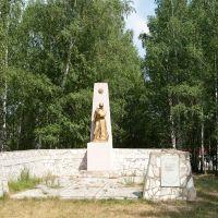Мемориал золотарёвцам, погибшим в годы ВОВ, Золотаревка