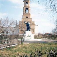 Дмитриевский храм и Ленин, Каменка