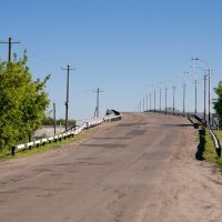 Мост через железку, Колышлей