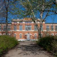 Бывшая 1-я школа, Мокшан