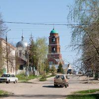 Улица Советская, плавно переходящая из Пензенской, Мокшан