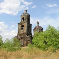 План - деревянная церковь, Неверкино