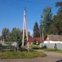 Ул.Парковая. Вид на военкомат, Никольск