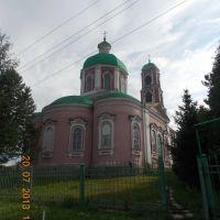 Храм во имя  Димитрия Солунского, Пачелма