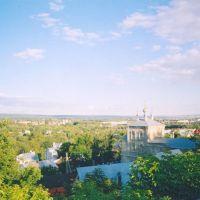 Penza panorama, monastery, Пенза