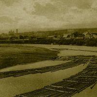 Пенза, которой нет.Обозрение города с Красного моста. Старинная фотография 1910-х годов / Review Penzy with the Red Bridge. An old photo of 1910, Пенза