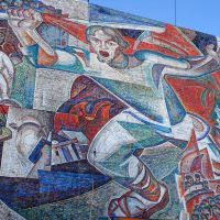 мозаика на ул. Московской, Пенза