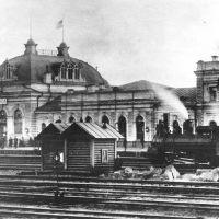 Пенза, которой нет: вокзал Пенза I Сызрано-Вяземской железной дороги. Фотография 1915 года., Пенза