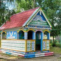 беседка на детской площадке, Русский Камешкир
