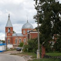 Троице-Сергиевская церковь, Русский Камешкир