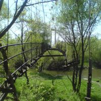 Заброшенный подвесной мост, Сердобск