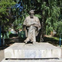 Памятник Яблочкову Павлу Николаевичу, 2009 год, Сердобск