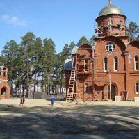 новая церковь(после пожара), Сосновоборск