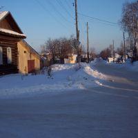 Перекрёсток  ул. Свердлова и Комсомольская, Верещагино