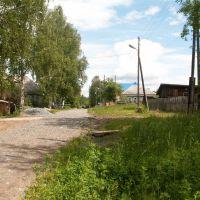 улица Рудого (у пересечения с улицей Железнодорожной), Верещагино