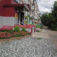 улица Советская летом, Верещагино