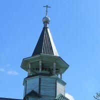Колоколья православного храма Александра Невского, Верещагино
