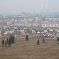 Горнозаводск. Фото с вертолета, Горнозаводск