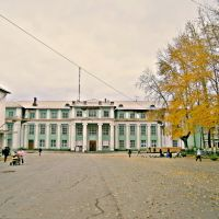 Площадь и Дом Культуры им.Бэра (г.Горнозаводск), Горнозаводск