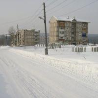 Гремячинск, улица Попова зимой, Гремячинск