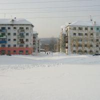 Гремячинск, улица Молодёжная зимой, Гремячинск